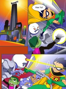 [Drawn-Sex] Teen Titans - Lucky Undertake responsibility for