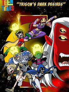 Teen Titans - Trigon's Swarthy Desires