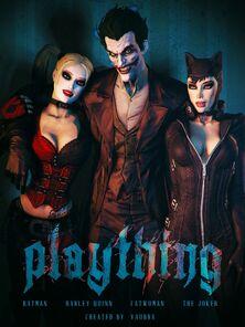 [Vaurra] Systemized & Harley Quinn - Plaything