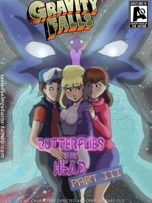Butterflies almost my head 3 - Gravity Falls