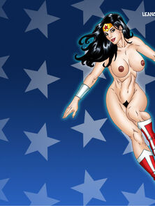 Wonder Woman and Cheetah Lesbo sex (JLA)