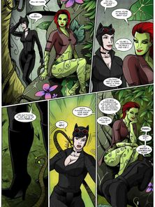 Catwoman Muscle Growth Manic