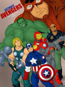 Ultimate Avengers Iceman Blue