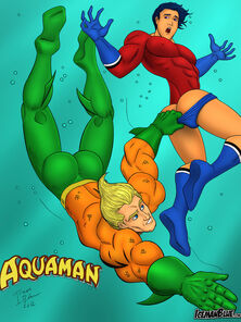Aquaman Humdinger Crestfallen