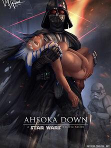 Ahsoka Down Star Wars off out of one's mind WHArt