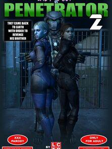 Lady & Patrolman vs Predator Bit 2 LCTR