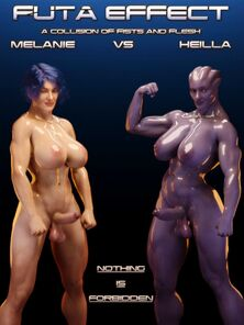 Futa Carry through Melanie vs Heilla Squarepeg3D