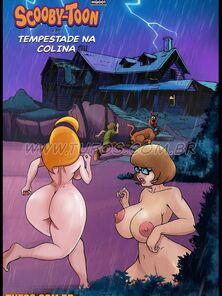 Scooby Toons Tempestade na colina (Tufos)