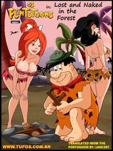 Os FlinTsToons 3 - Tufos [English] Naked in the Forest