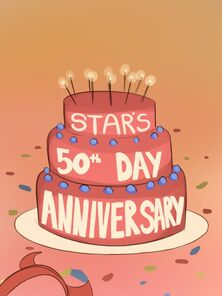 Star's 50th Day Epicurean treat