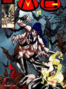 Mega Girl VS Countess Break