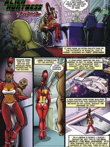 Alien Huntress 1-5