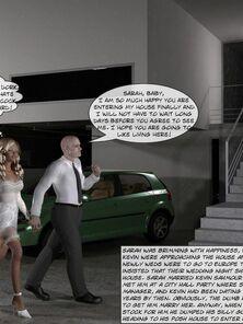 3D Porn Comics-Wedding Night Stun