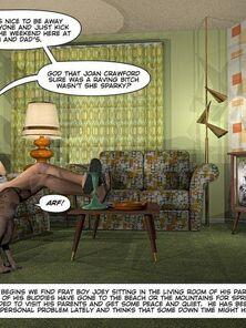 Homosexual 3D Erotica Comics-CumingOut