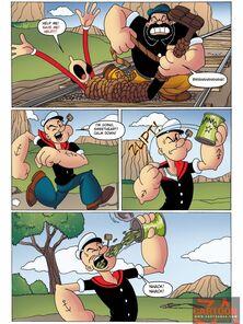 CartoonZA - Popeye slay rub elbows with Jack Tar dude