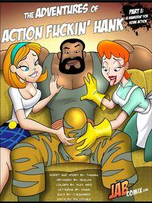 Adventures of Action Fuckin' Hank - Jab