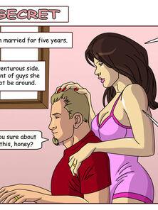 Hot Wife Comics-Sarah's Secret