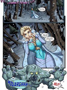 Frozen Parody 7 - Elsa Hardcore sex