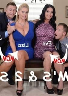 Brazzers  - 2 Mom & 2 Son