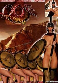 300 Amazons-Queen of Sparta Barbarianbabes