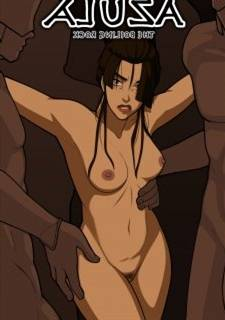 Avatar,  Azula far the Boiling Rock  - Mr.Potatoparty