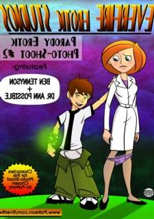 Everfire - Photoshoot 2 Ben10 and Ann Window-card