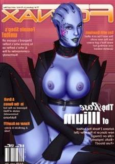 FORNAX – Make an issue of galaxy's finest xenophilia (Mass Effect)