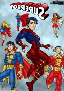 Bluebeard Glum - Superboy Superheroes XXX Parody