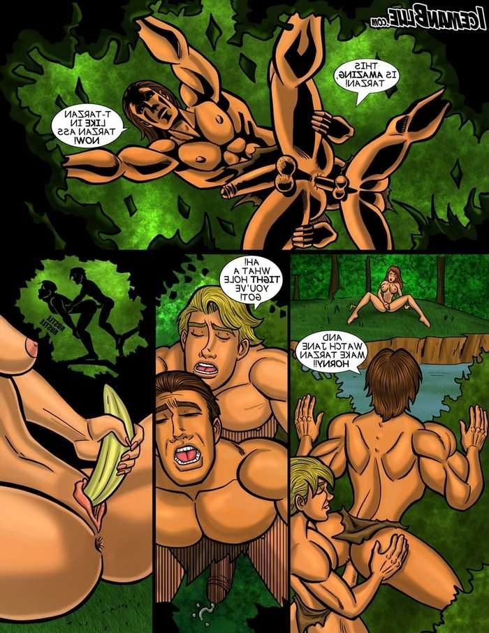 comic-porno-tarzan-sucking-her-first-cock