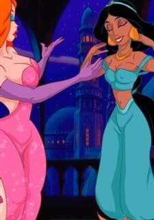 [CartoonValley] Jessica & Jasmine Lesbian