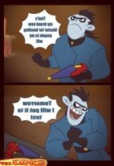 [Comics-Toons] Kim Practical joker Master & Serf
