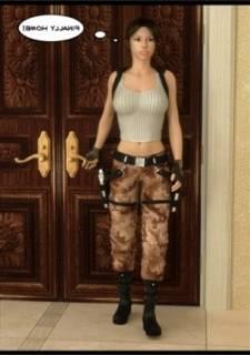 DeTomasso  - featuring Lara Croft,  3D
