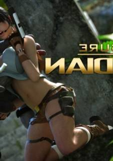 3DXart  - Treasure Warrior 1(Lara Croft)