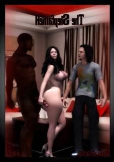 Moiarte - The Stepfather, 3D Interracial