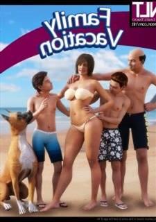 NLT media - Family Vacation, 3D Incest