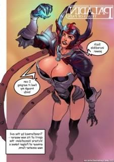 Paladin upon bluff Trounce 2 - Battle Erotica