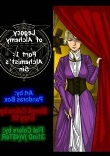Pandora Resourceless - Legacy of Alchemy, PBX