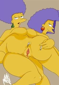 Appositely & Selma (Simpsons)