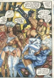 PBX X-MEN - Superheroes Sex Parody