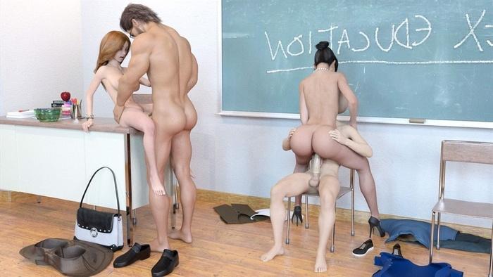 Great sex education video pics models