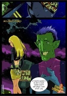 Teen Titans – Terra increased by Beast Male (Okunev)
