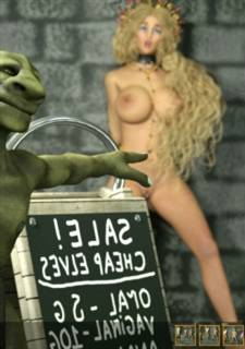 Zuleyka - Monstrous Sale,  Sex 3D Massive