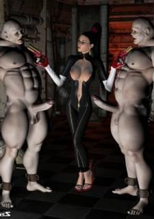ZZomp 3DX - Bayonetta,  Enormous Sexual