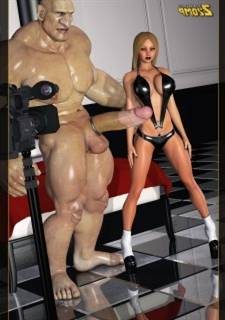 Zzomp - Blonde and Slay rub elbows with Giant, XXX 3D